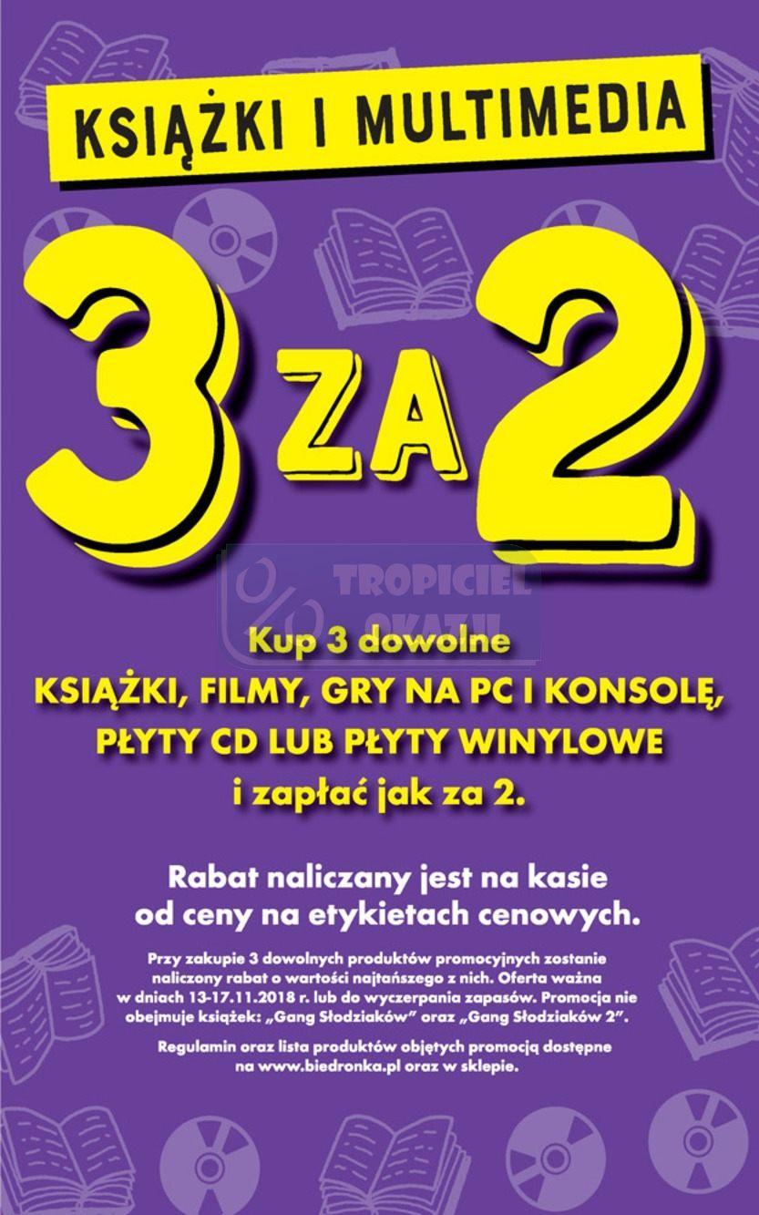 Gazetka promocyjna Biedronka do 17/11/2018 str.59