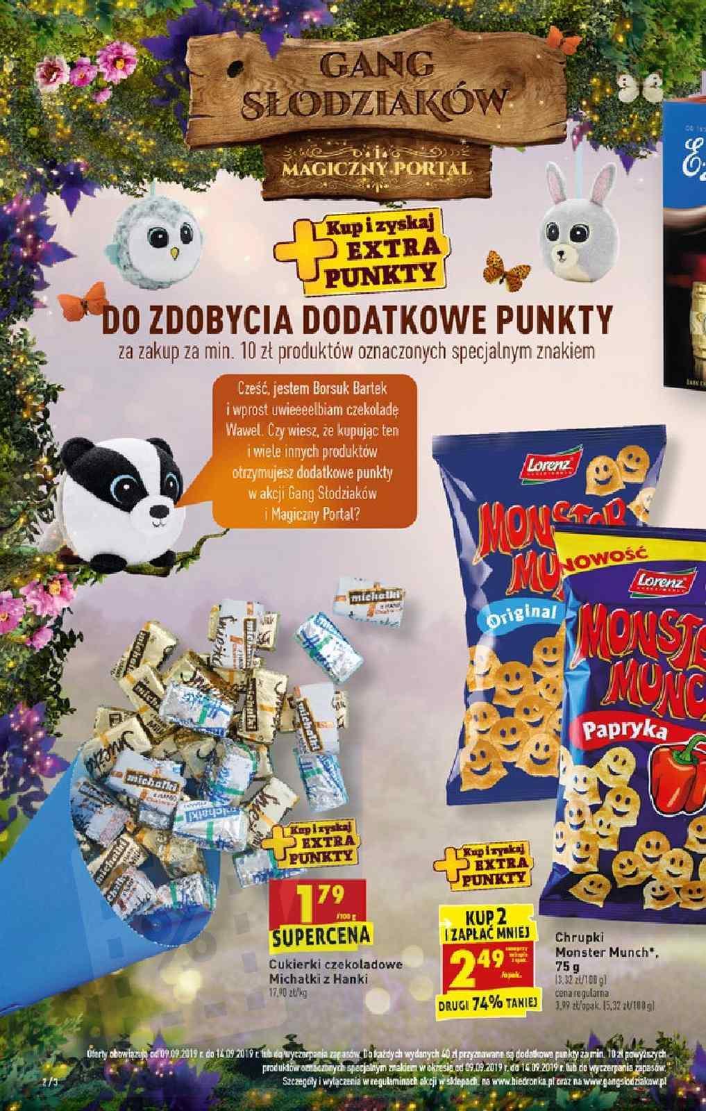 Gazetka promocyjna Biedronka do 14/09/2019 str.2