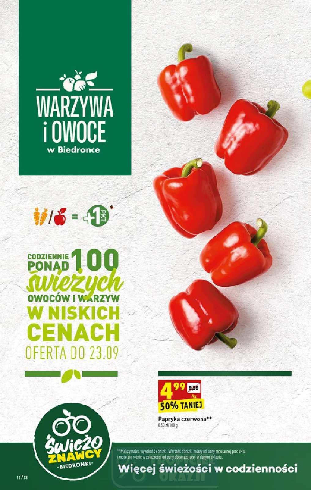 Gazetka promocyjna Biedronka do 27/09/2020 str.12