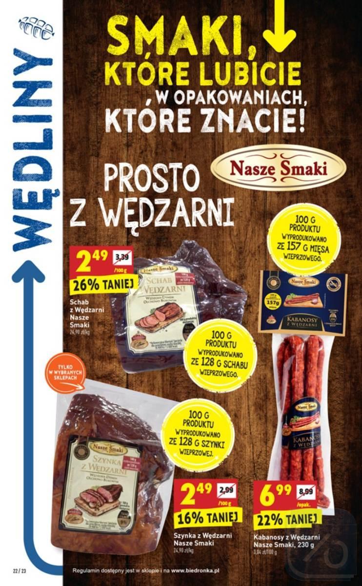 Gazetka promocyjna Biedronka do 16/06/2018 str.22