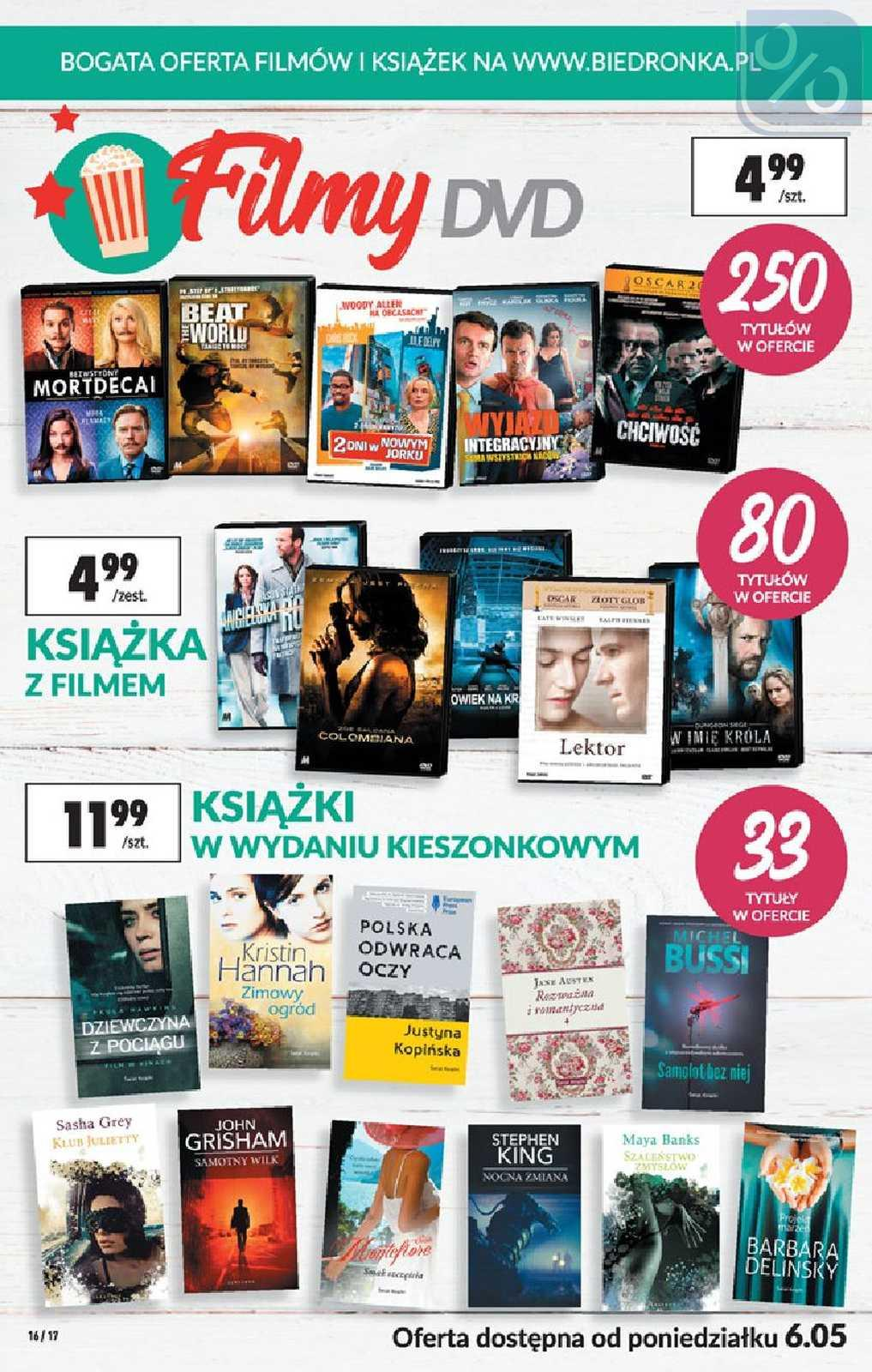 Gazetka promocyjna Biedronka do 22/05/2019 str.16
