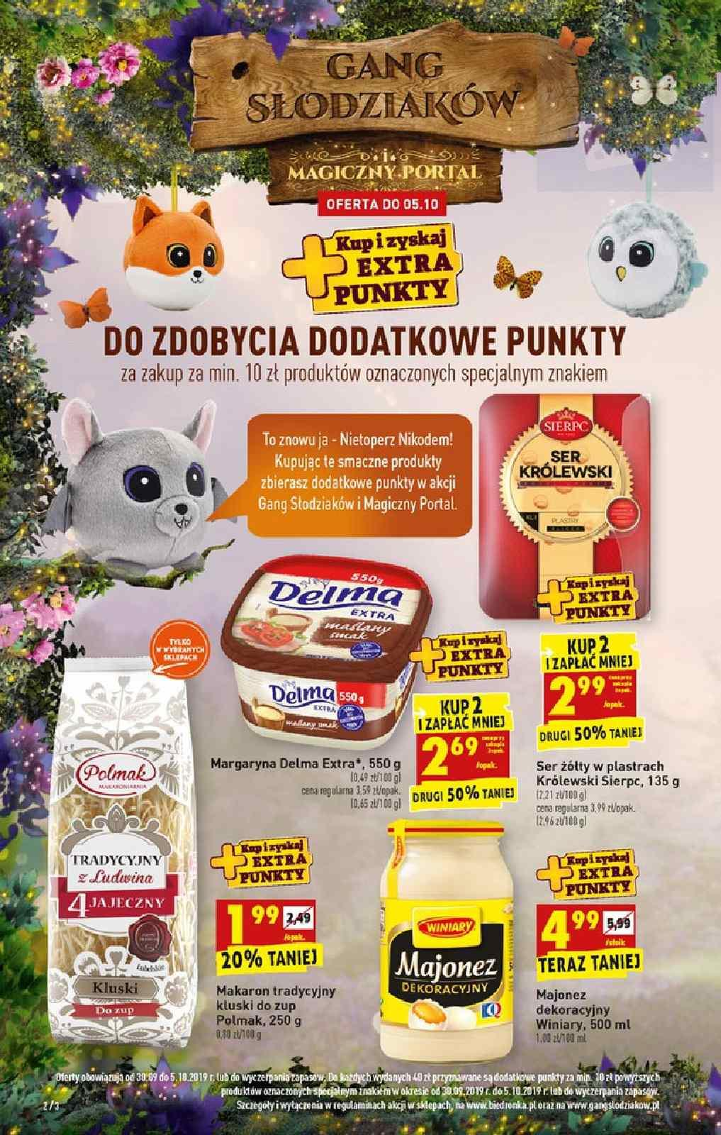 Gazetka promocyjna Biedronka do 09/10/2019 str.1