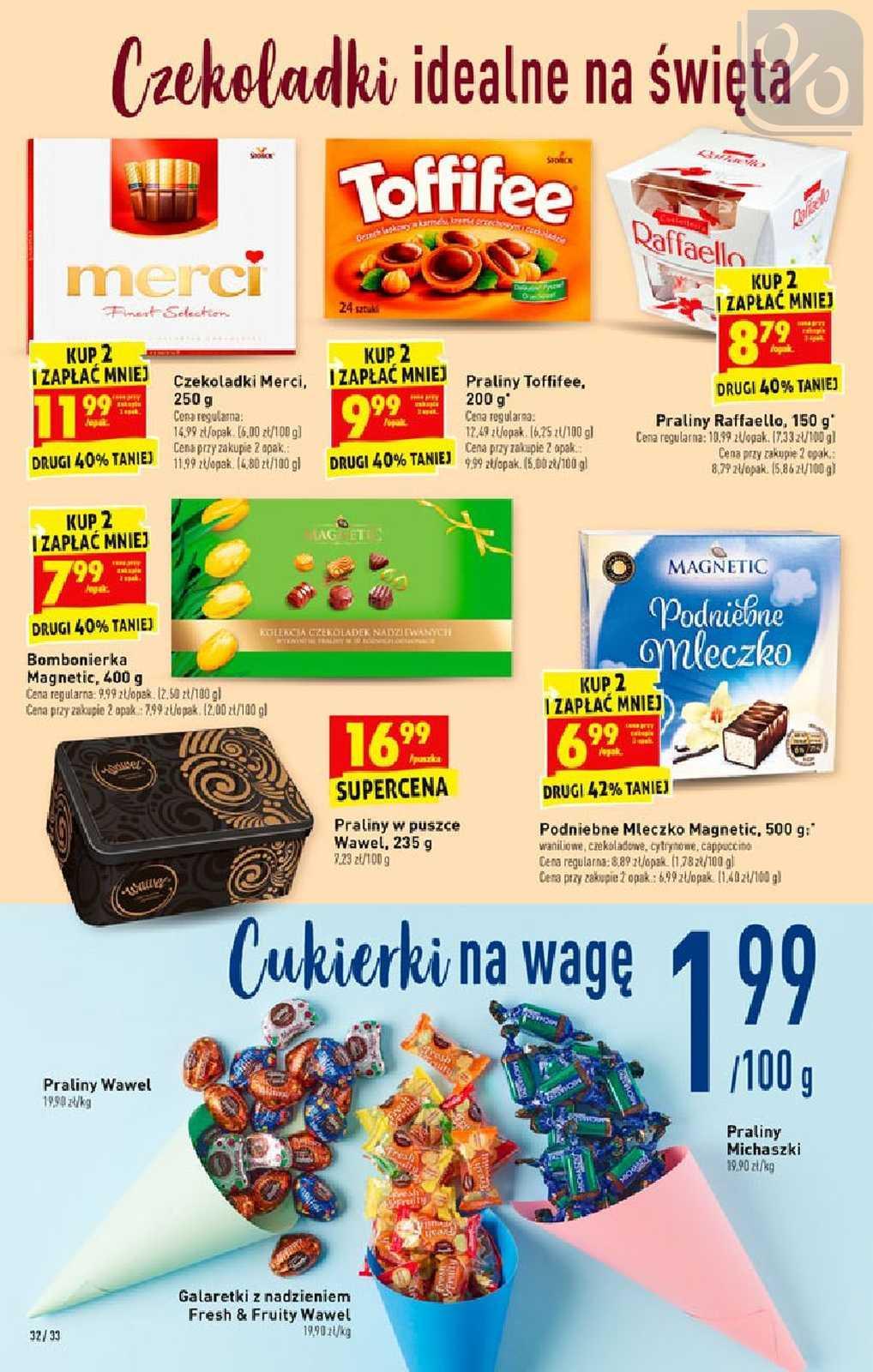 Gazetka promocyjna Biedronka do 20/04/2019 str.32