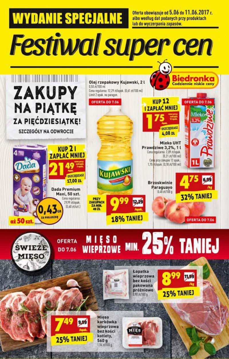 Gazetka promocyjna Biedronka do 11/06/2017 str.0