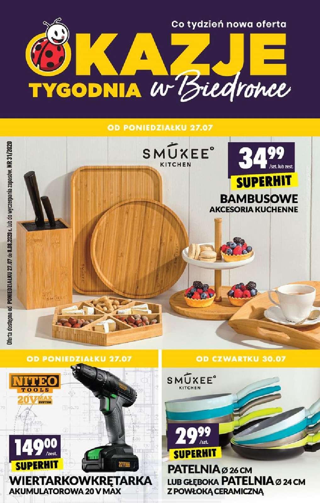 Gazetka promocyjna Biedronka do 08/08/2020 str.1