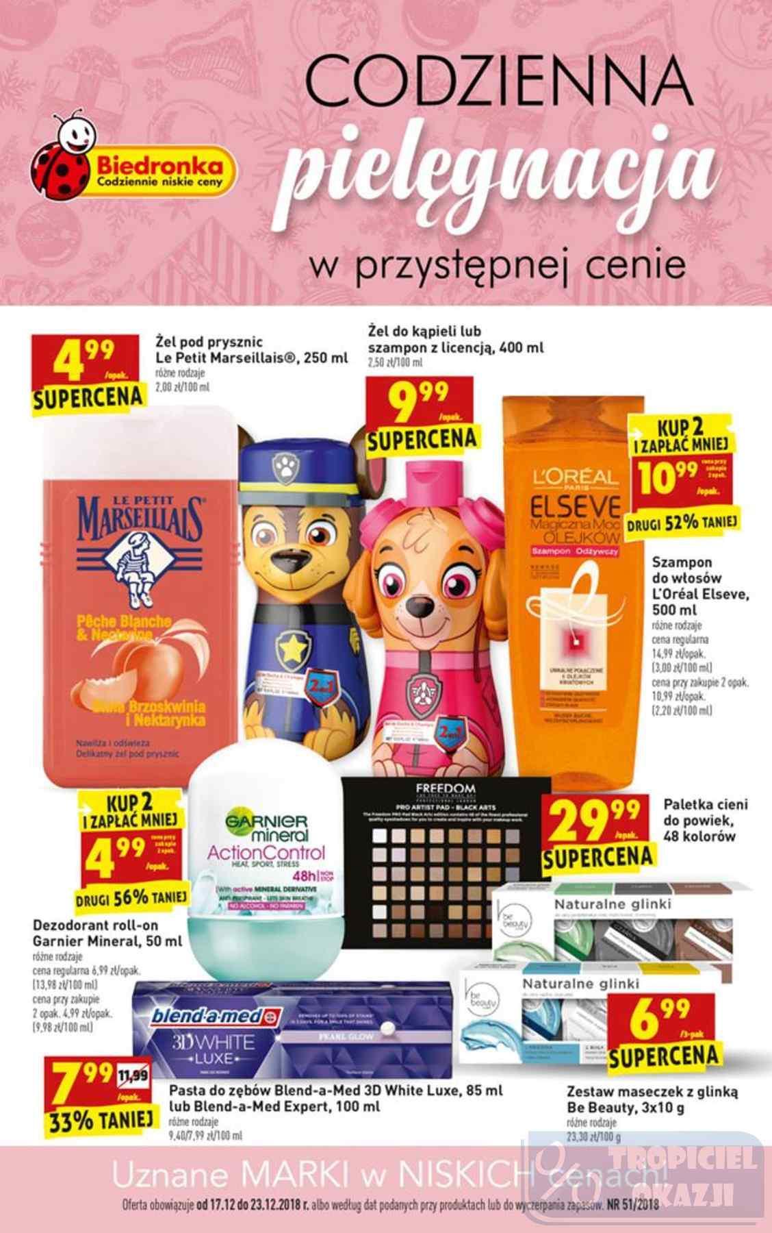 Gazetka promocyjna Biedronka do 23/12/2018 str.0
