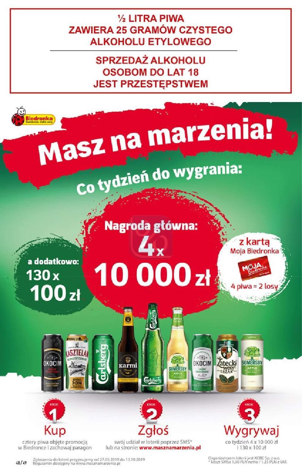 Gazetka promocyjna Biedronka do 28/07/2019 str.48