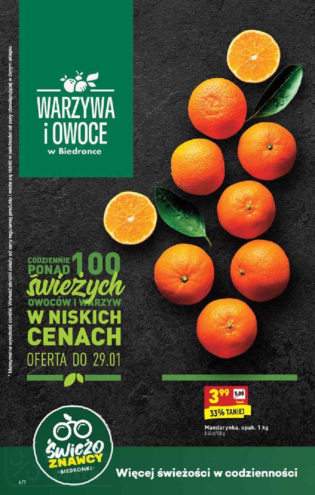 Gazetka promocyjna Biedronka do 01/02/2020 str.6