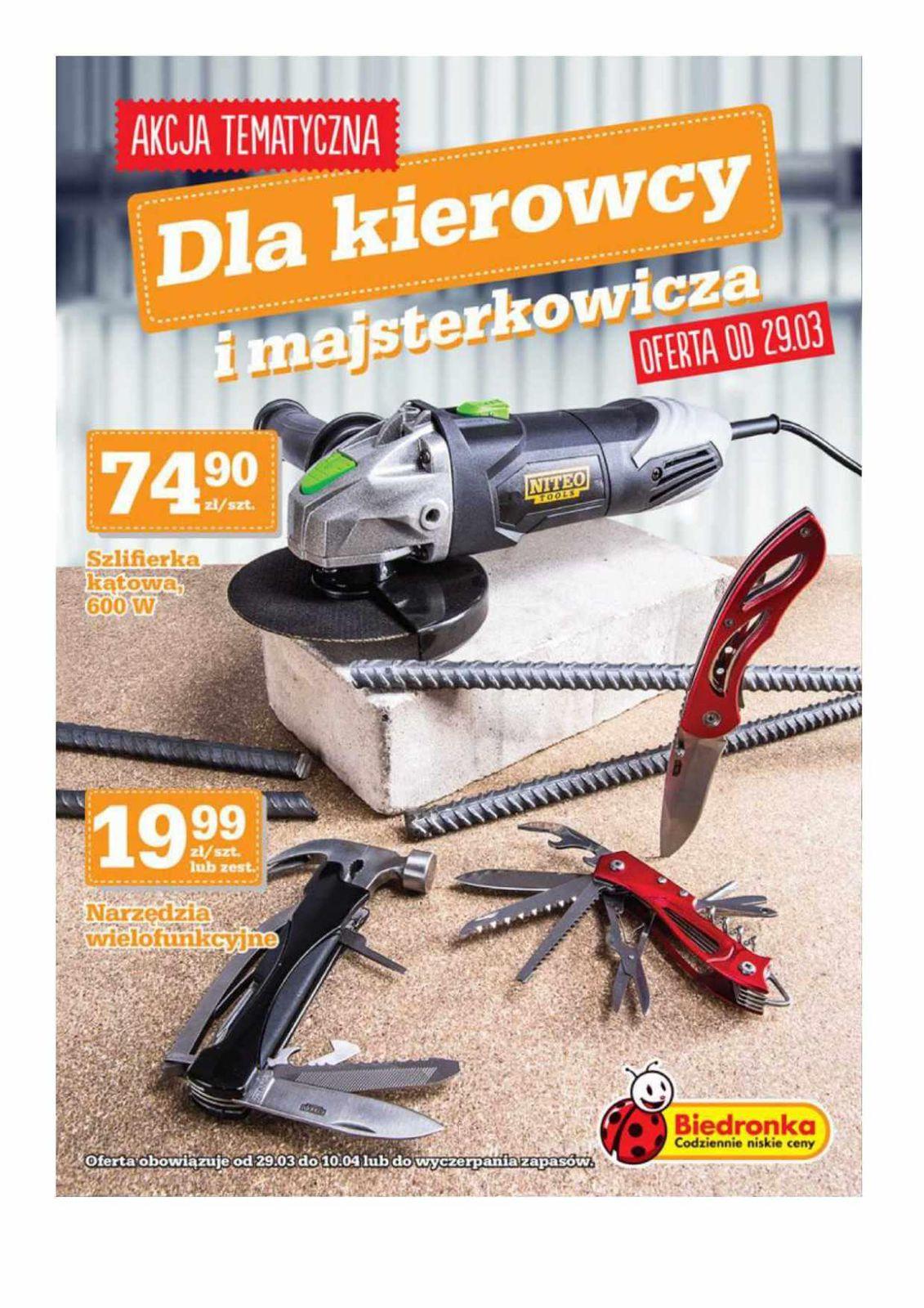 Gazetka promocyjna Biedronka do 10/04/2016 str.0
