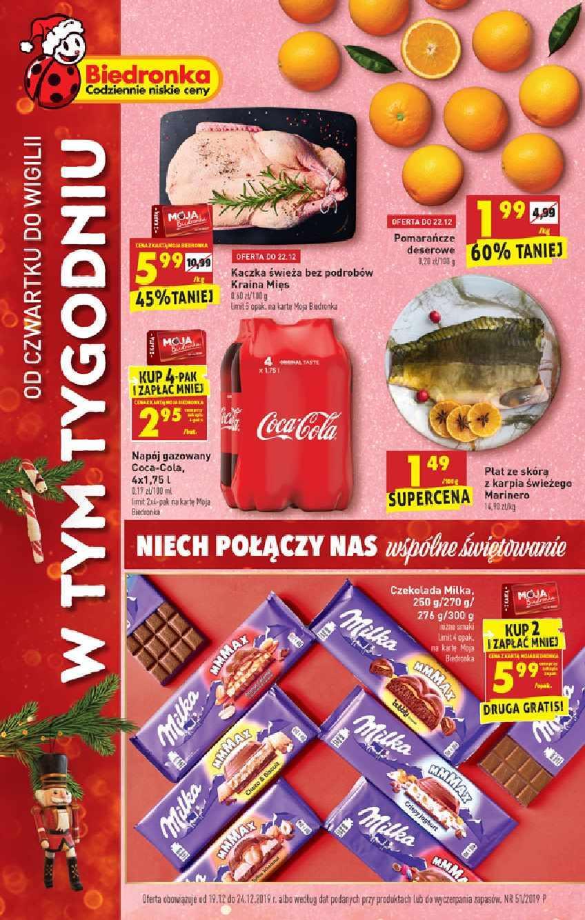 Gazetka promocyjna Biedronka do 24/12/2019 str.0