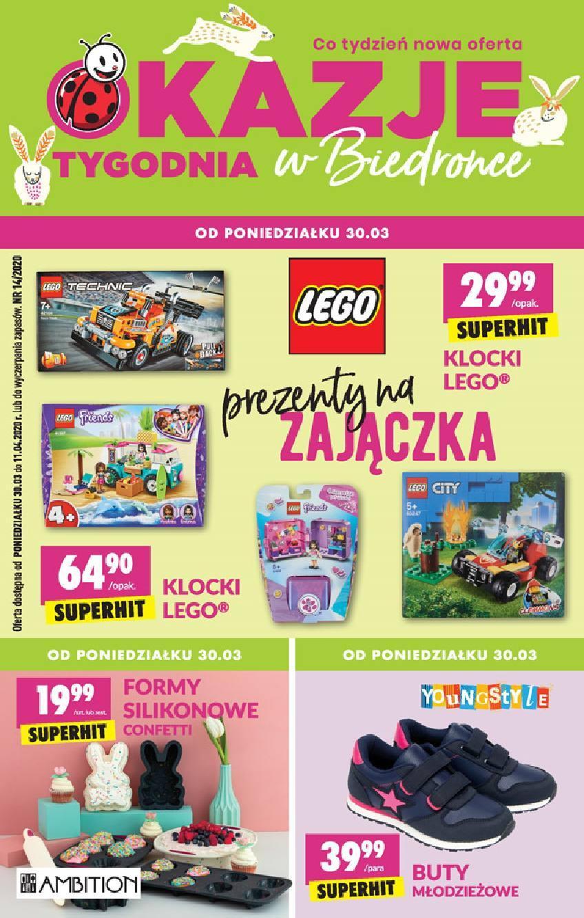 Gazetka promocyjna Biedronka do 11/04/2020 str.1