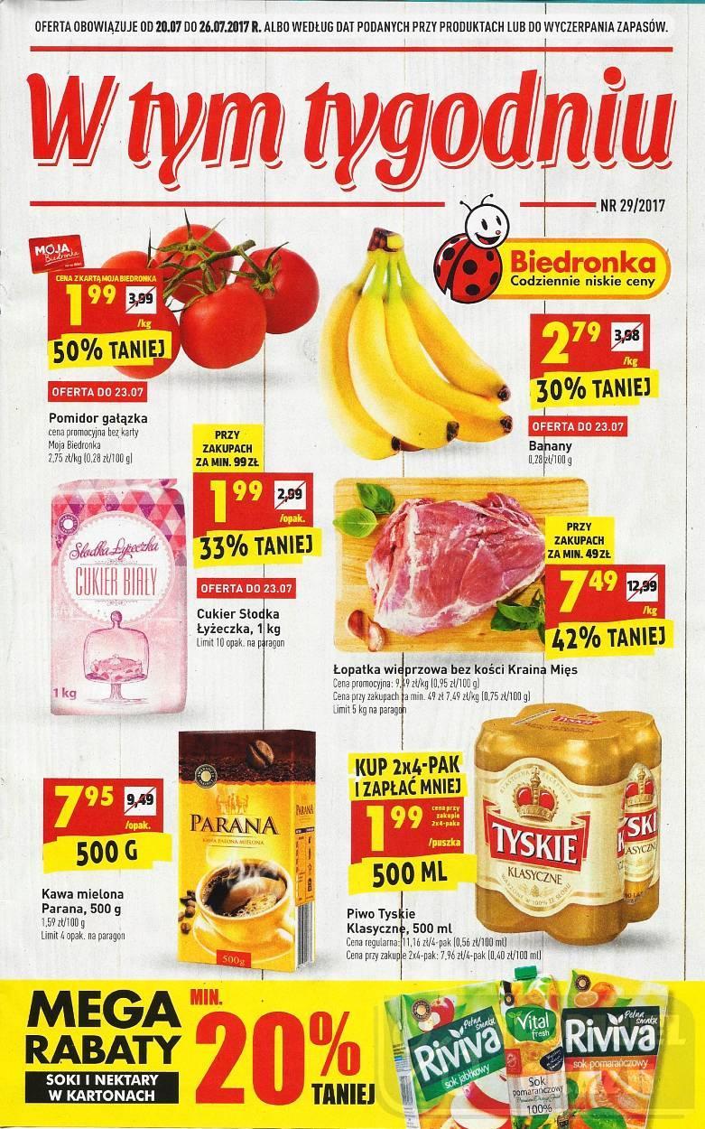 Gazetka promocyjna Biedronka do 26/07/2017 str.0
