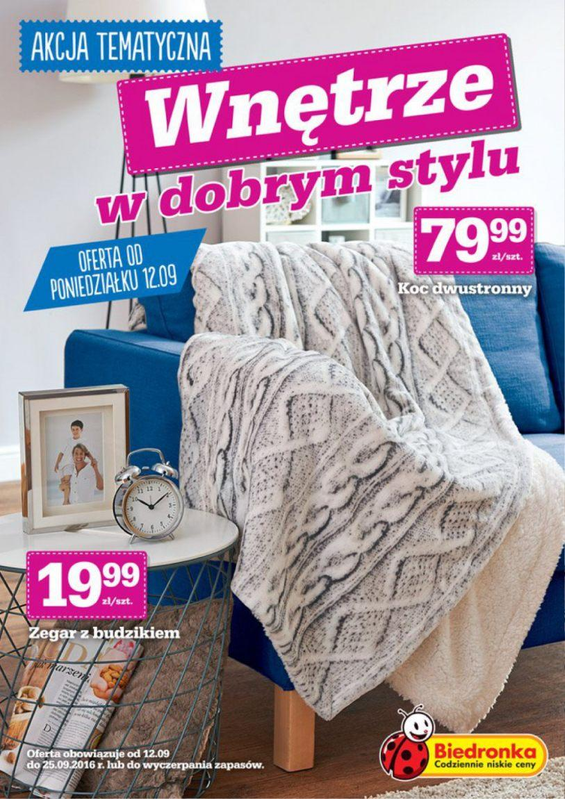 Gazetka promocyjna Biedronka do 25/09/2016 str.0
