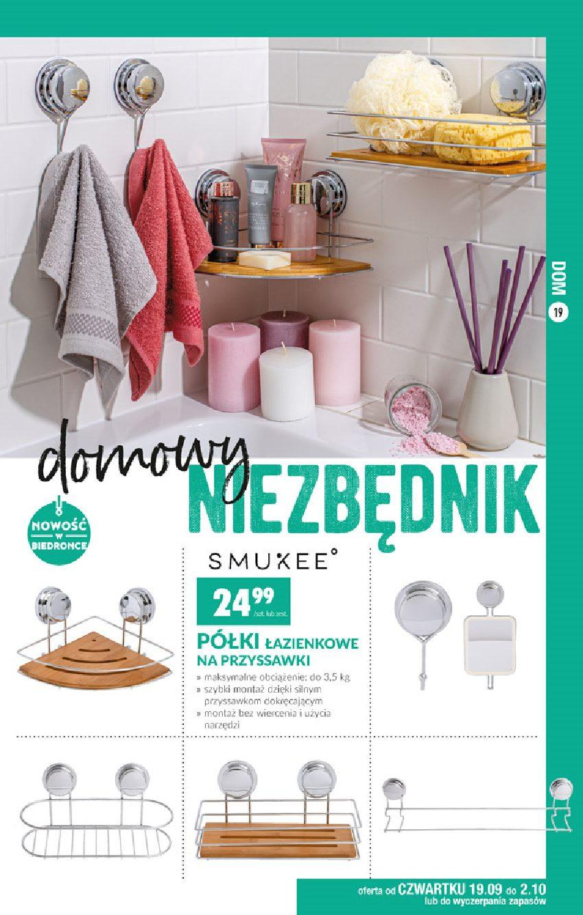 Gazetka promocyjna Biedronka do 02/10/2019 str.19
