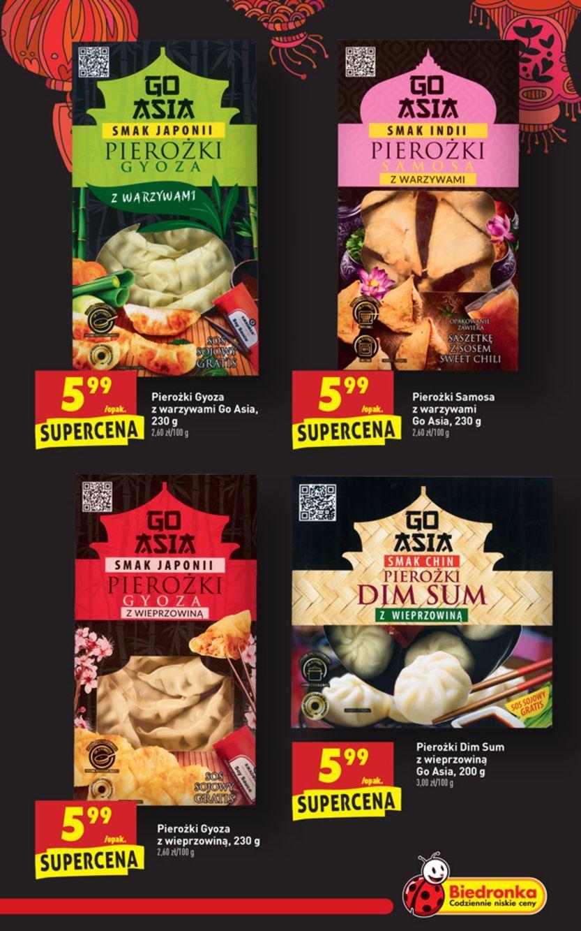 Gazetka Promocyjna I Reklamowa Biedronka Kuchnia Azjatycka