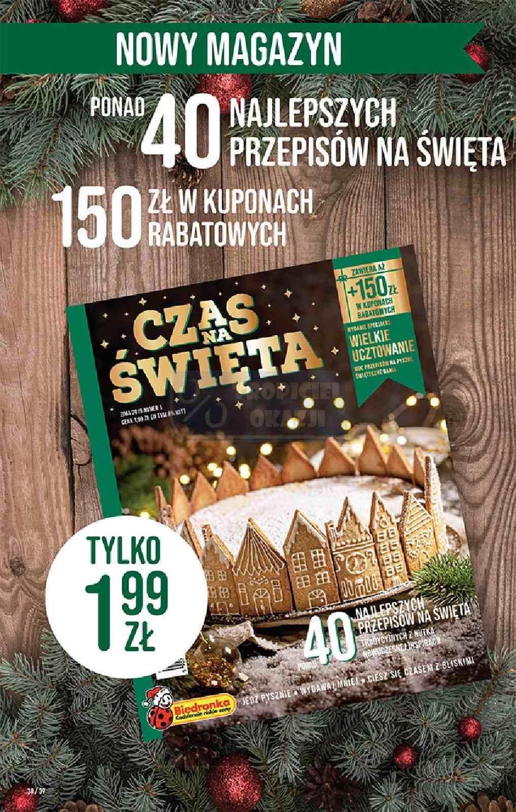 Gazetka promocyjna Biedronka do 15/12/2019 str.38