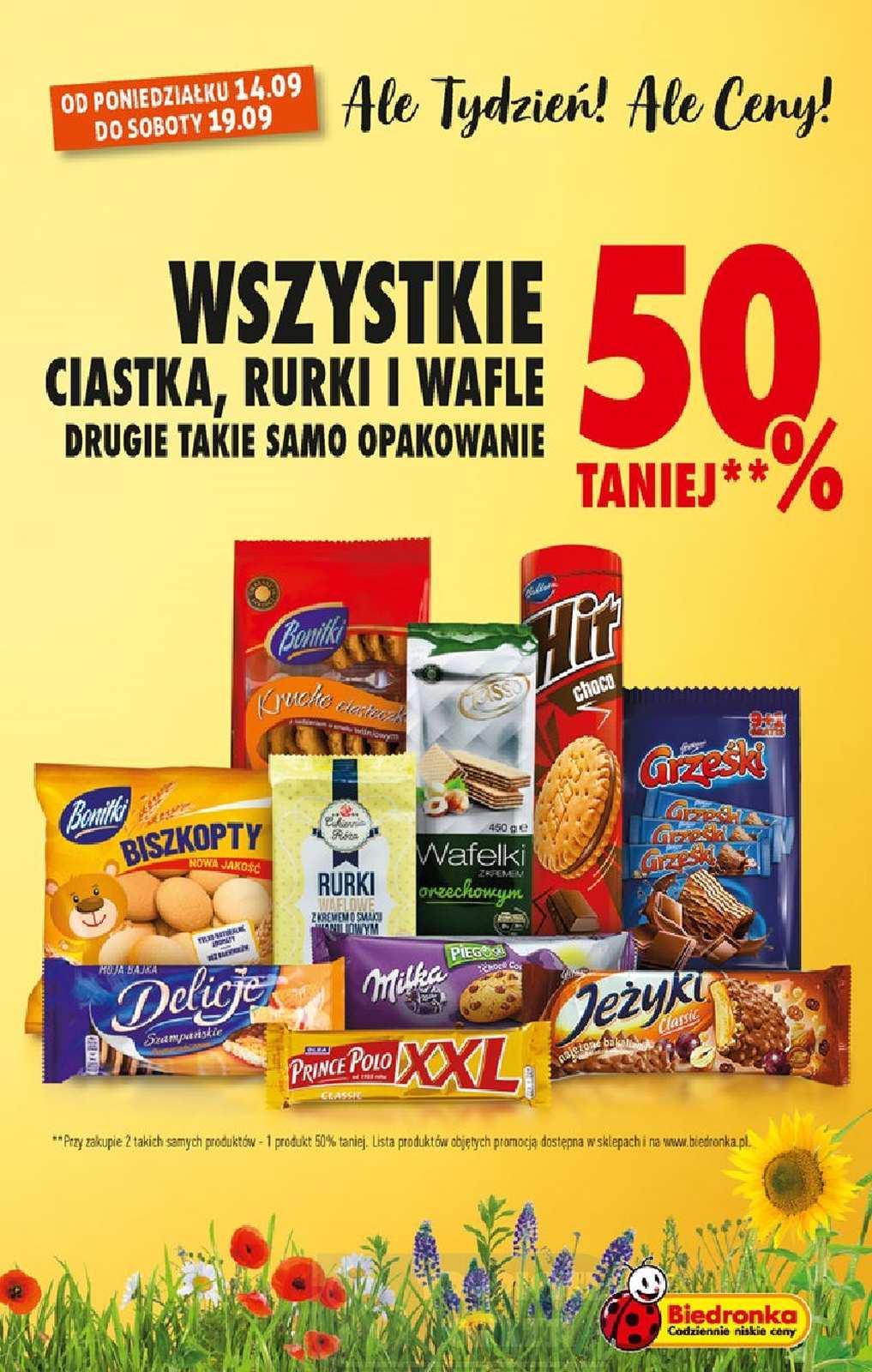 Gazetka promocyjna Biedronka do 19/09/2020 str.3
