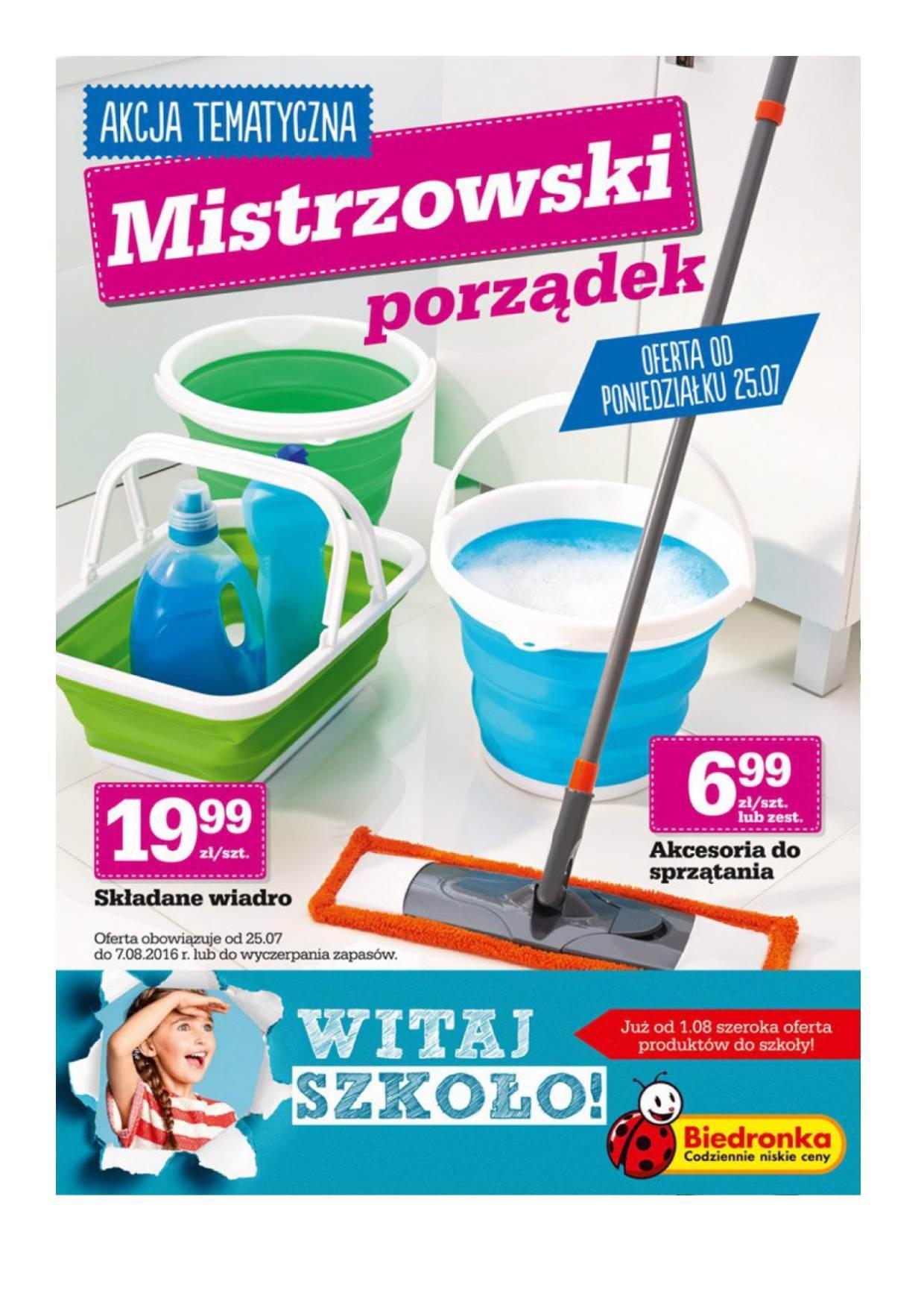 Gazetka promocyjna Biedronka do 07/08/2016 str.0