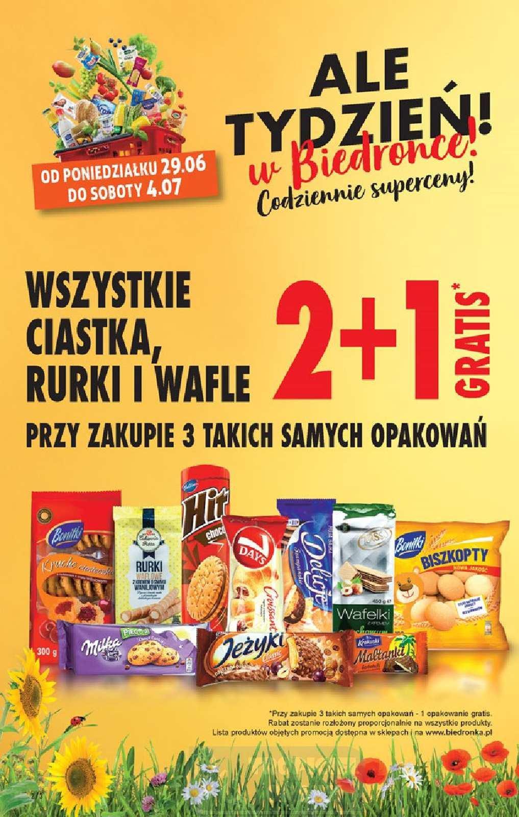 Gazetka promocyjna Biedronka do 04/07/2020 str.2