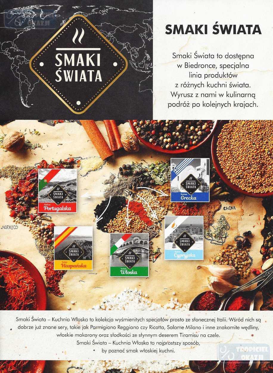 Gazetka Promocyjna I Reklamowa Biedronka Kuchnia Włoska