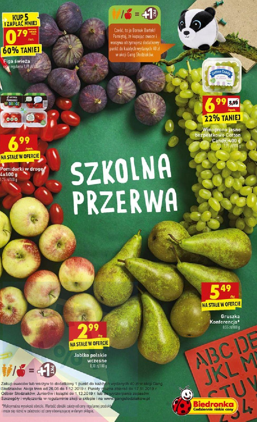 Gazetka promocyjna Biedronka do 07/09/2019 str.10