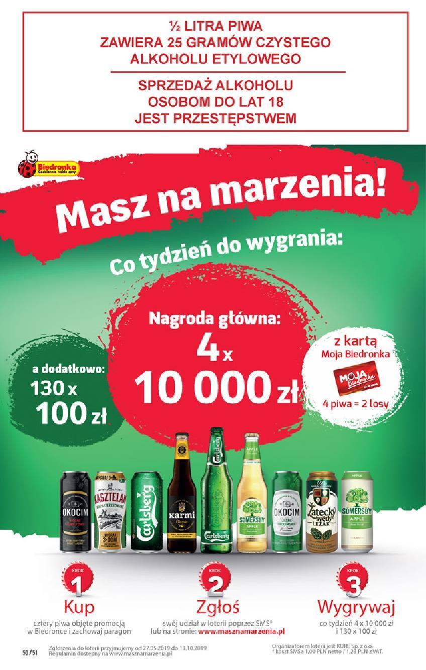 Gazetka promocyjna Biedronka do 03/08/2019 str.49