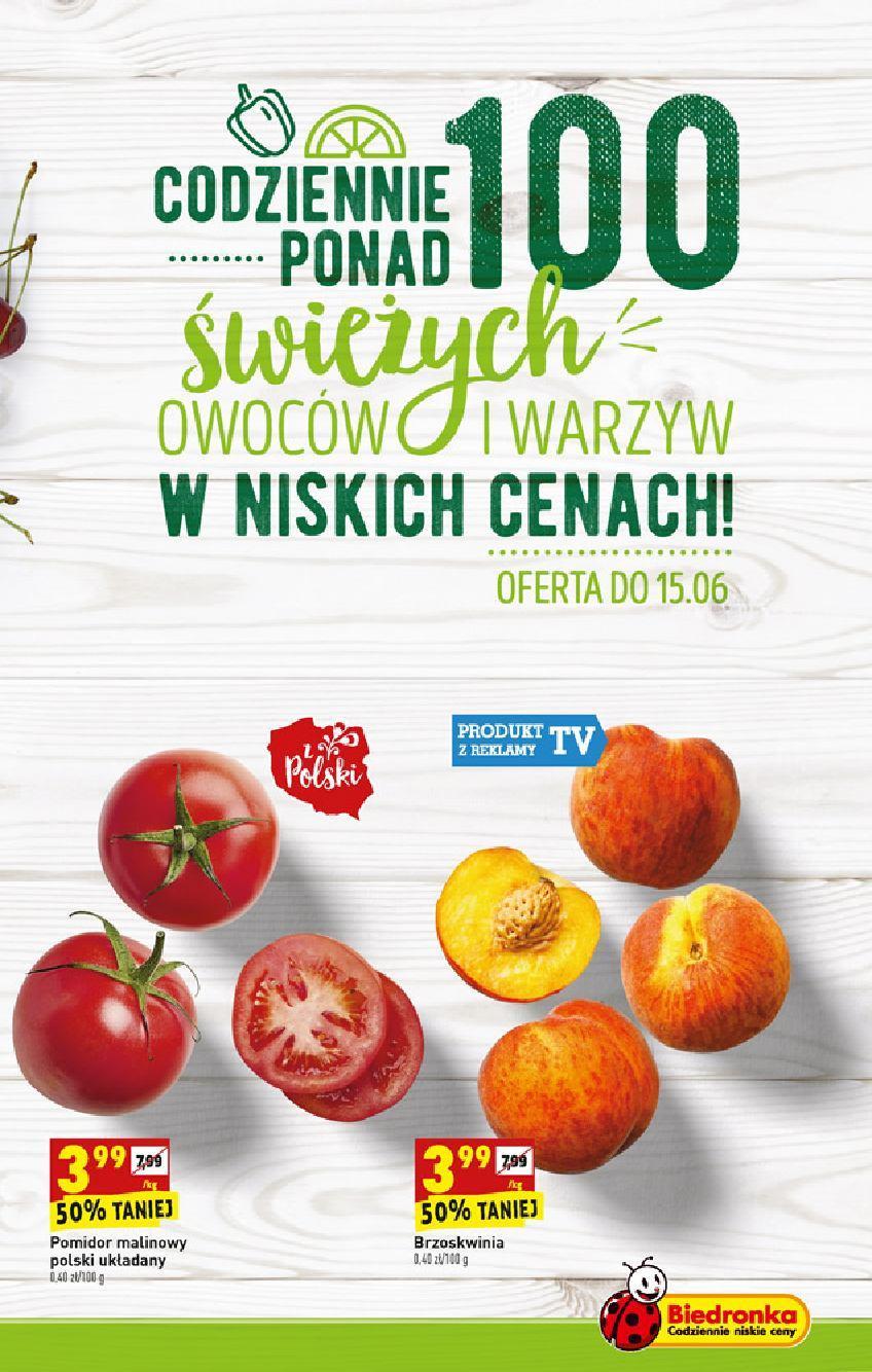 Gazetka promocyjna Biedronka do 19/06/2019 str.7