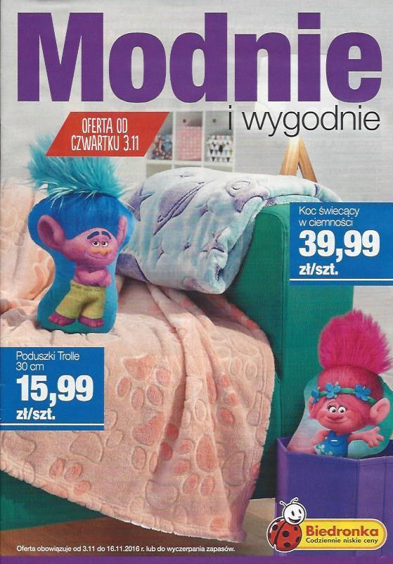 Gazetka promocyjna Biedronka do 16/11/2016 str.0