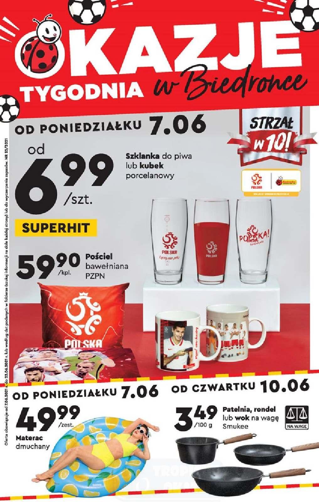 Gazetka promocyjna Biedronka do 23/06/2021 str.1