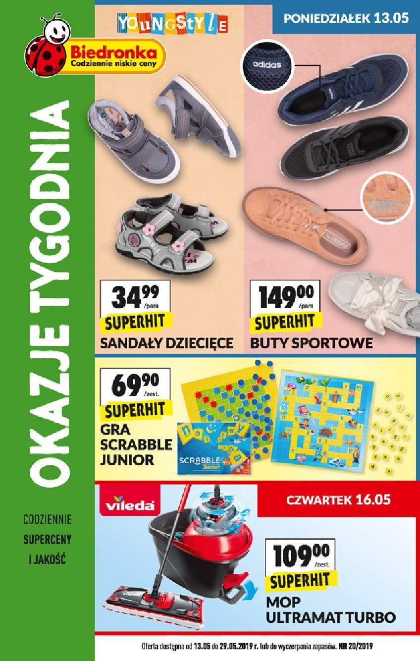 Gazetka promocyjna Biedronka do 29/05/2019 str.0