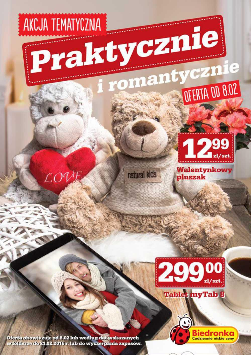 Gazetka promocyjna Biedronka do 20/02/2016 str.0