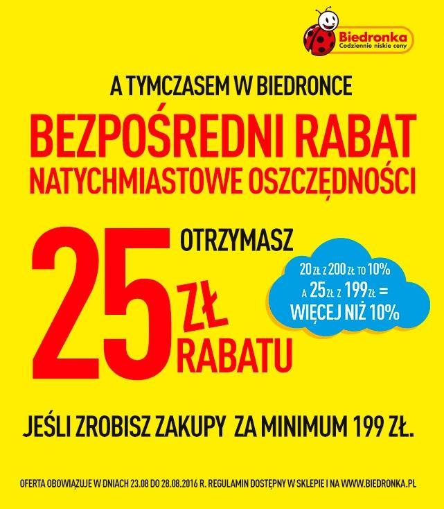 Gazetka promocyjna Biedronka do 28/08/2016 str.0