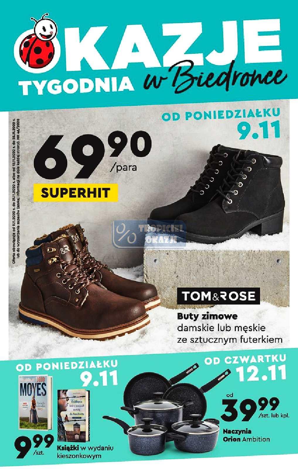 Gazetka promocyjna Biedronka do 21/11/2020 str.1