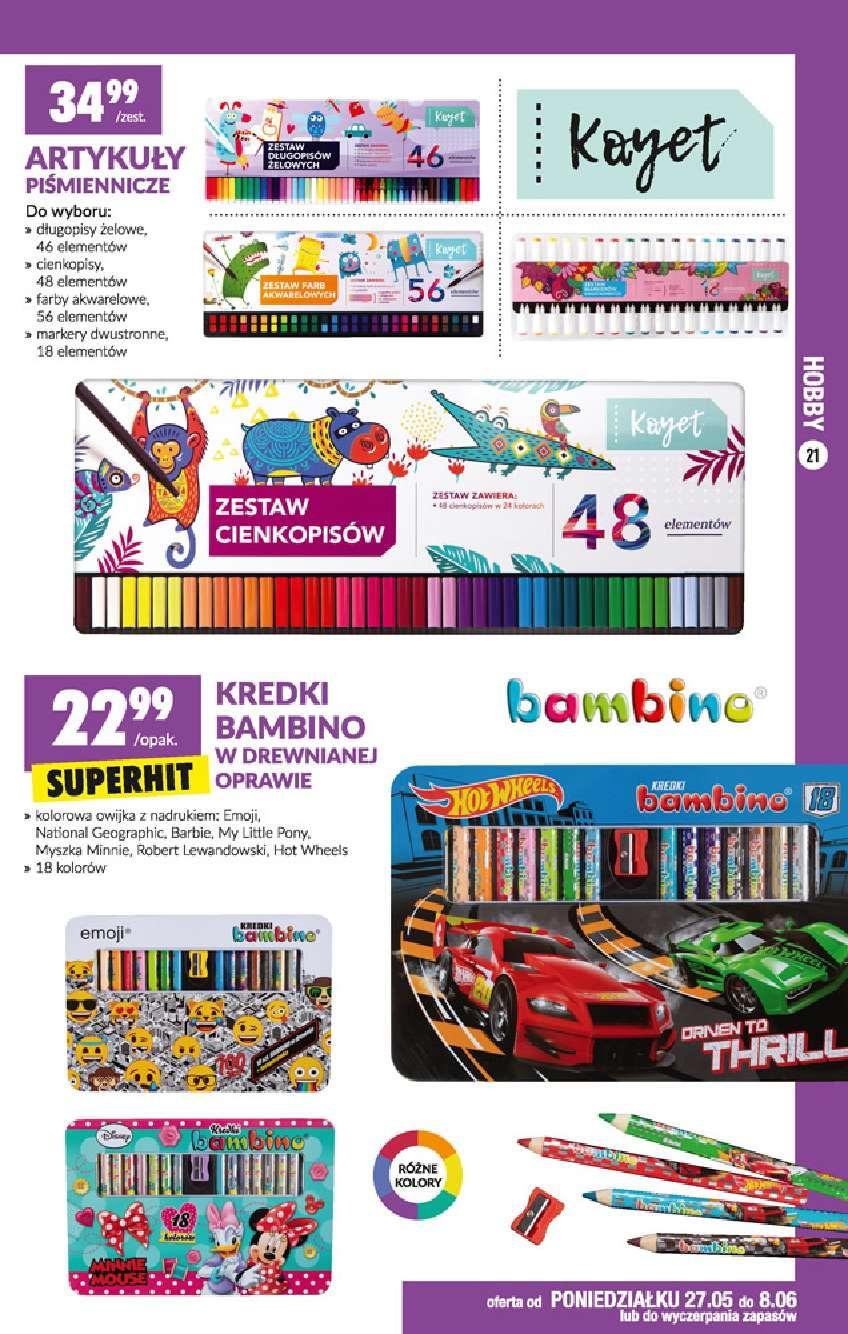 Gazetka promocyjna Biedronka do 12/06/2019 str.21