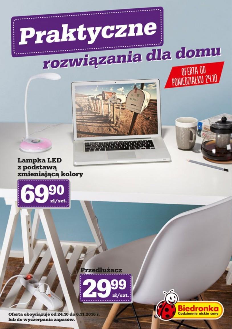 Gazetka promocyjna Biedronka do 06/11/2016 str.0