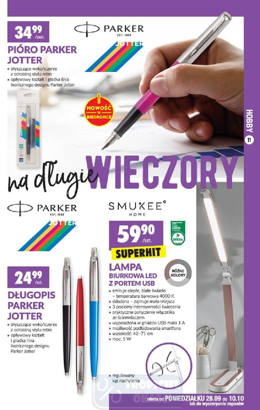 Gazetka promocyjna Biedronka do 14/10/2020 str.11