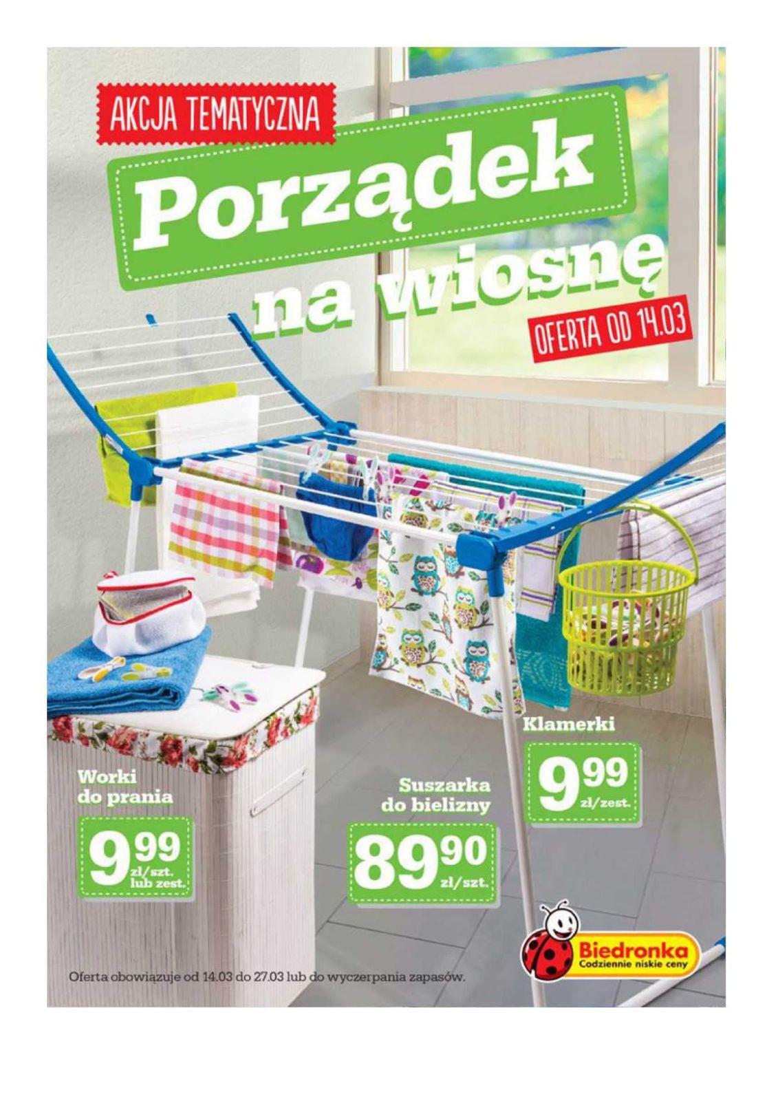 Gazetka promocyjna Biedronka do 27/03/2016 str.0