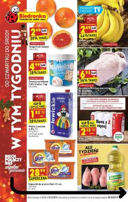 Biedronka gazetka - od 12/12/2019 do 18/12/2019