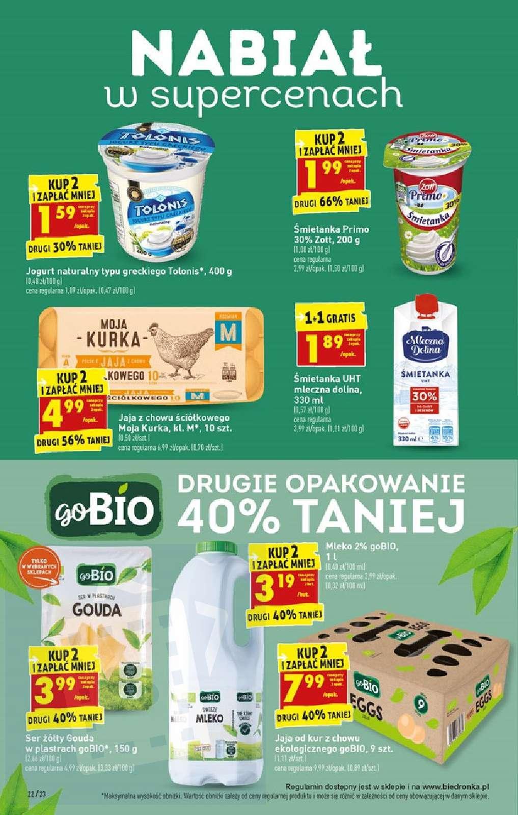 Gazetka promocyjna Biedronka do 25/08/2019 str.21