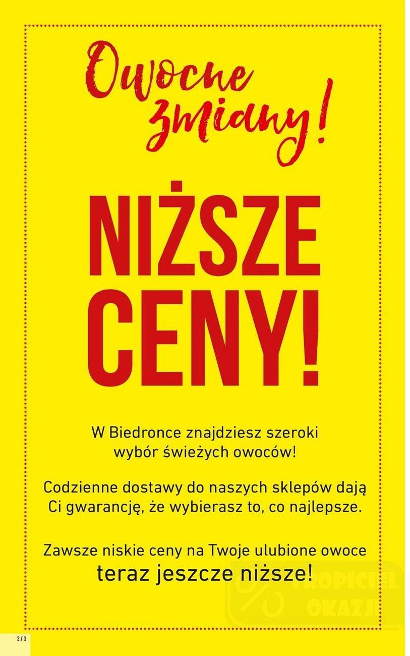 Gazetka promocyjna Biedronka do 19/09/2018 str.2