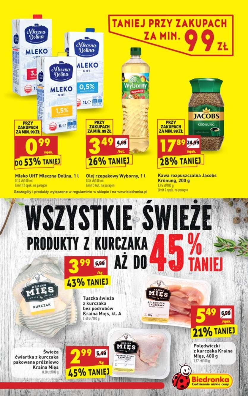 Gazetka promocyjna Biedronka do 13/10/2018 str.3
