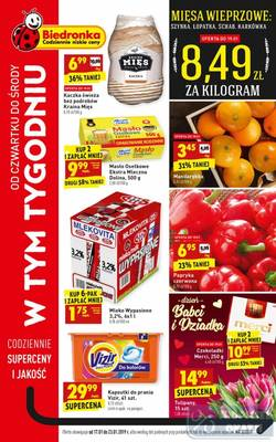 Biedronka gazetka - od 17/01/2019 do 23/01/2019