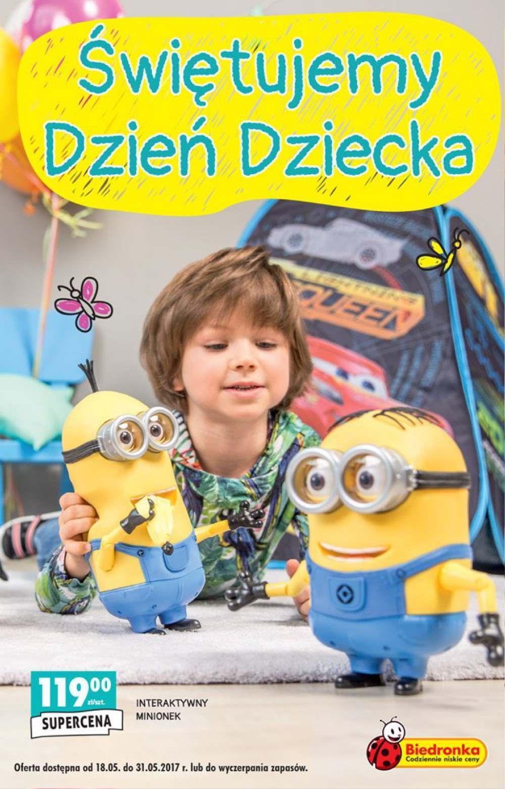 Gazetka promocyjna Biedronka do 31/05/2017 str.0