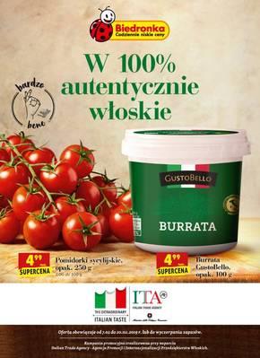 Autentycznie włoskie