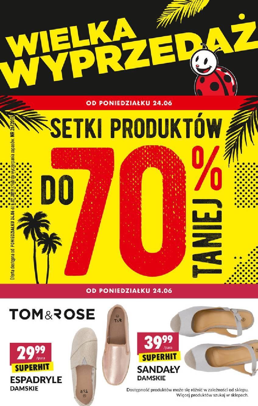 Gazetka promocyjna Biedronka do 06/07/2019 str.0