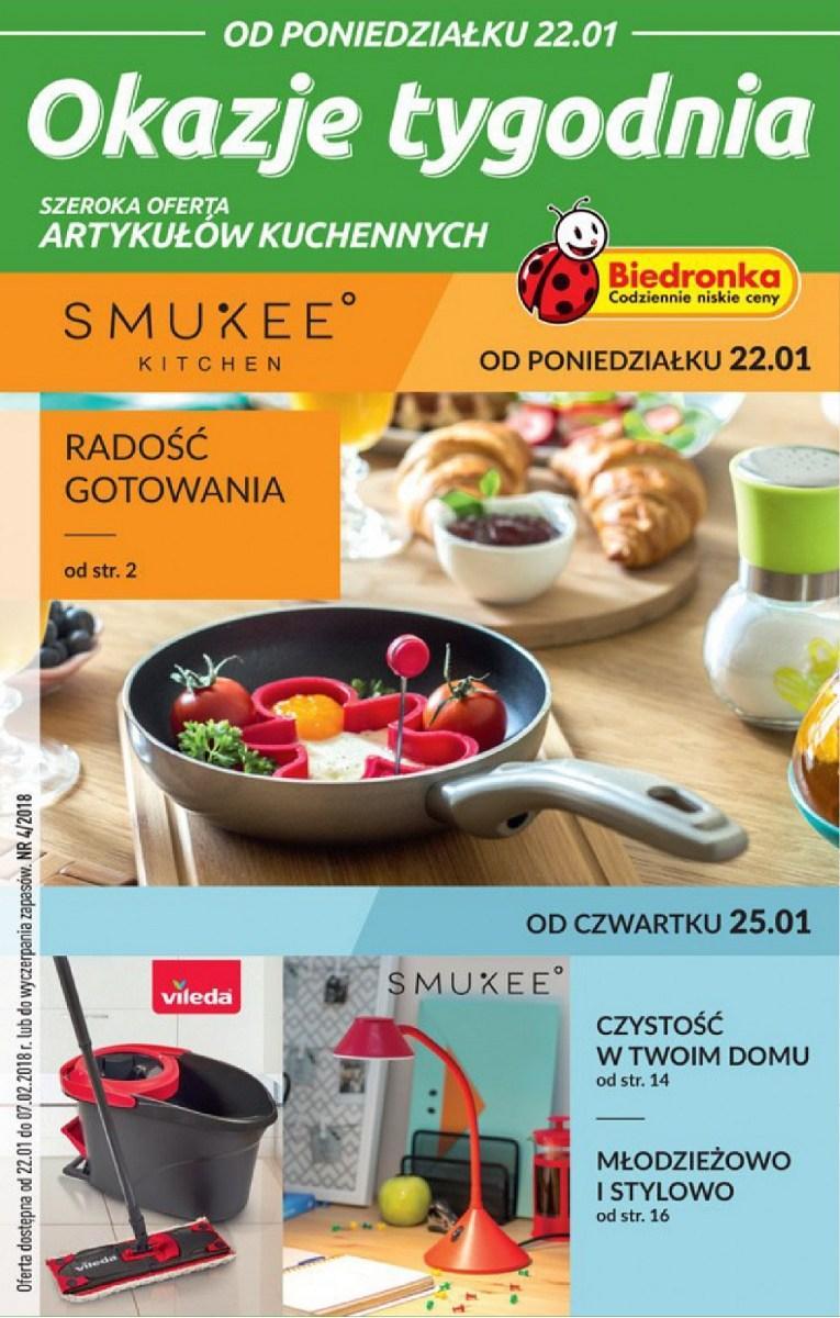 Gazetka promocyjna Biedronka do 07/02/2018 str.0