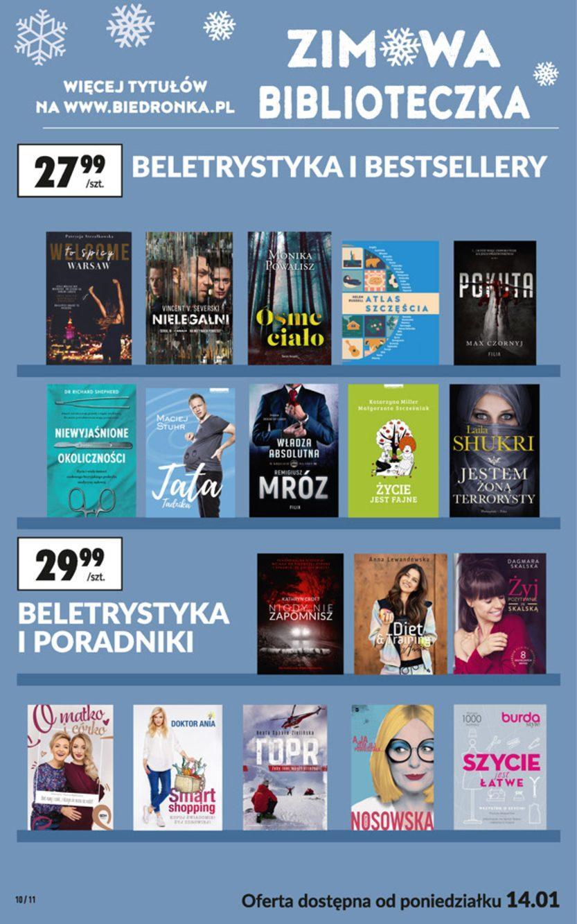 Gazetka promocyjna Biedronka do 30/01/2019 str.10