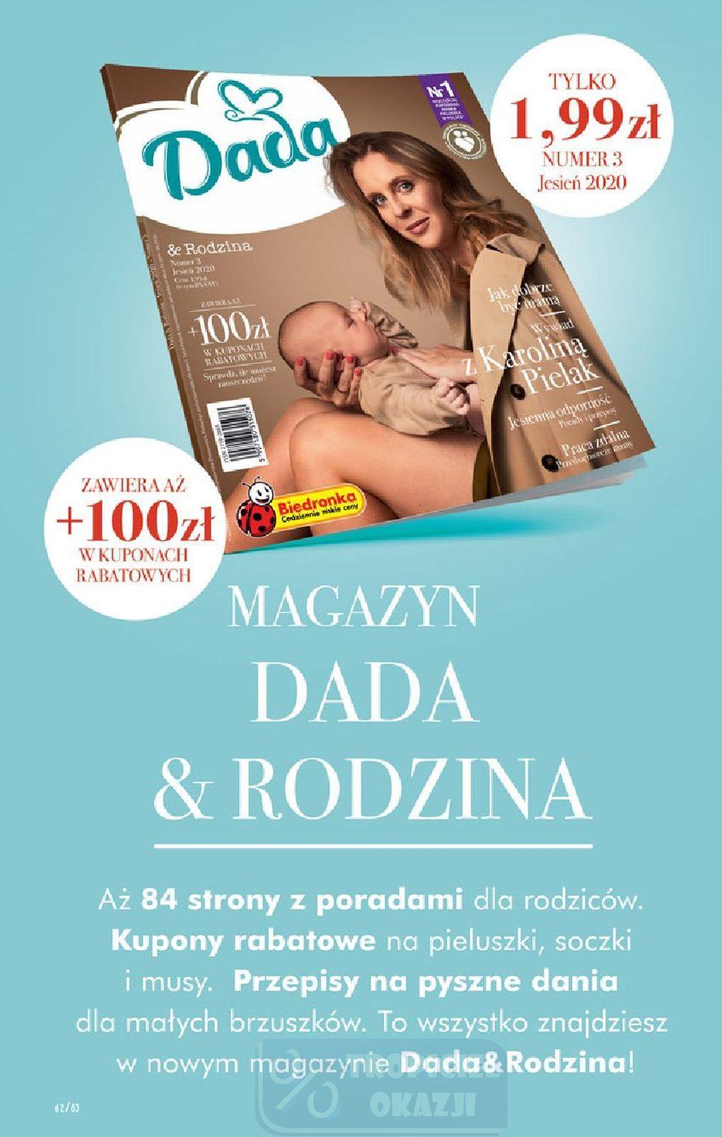 Gazetka promocyjna Biedronka do 30/09/2020 str.62