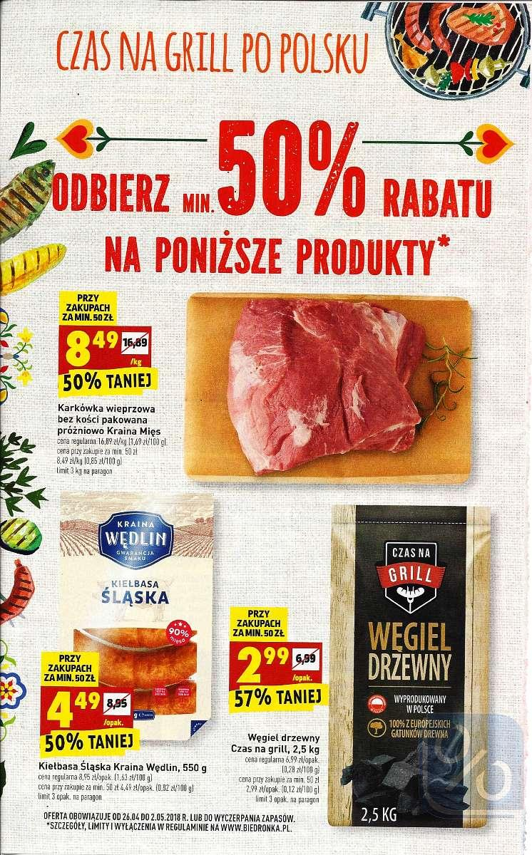 Gazetka promocyjna Biedronka do 02/05/2018 str.1
