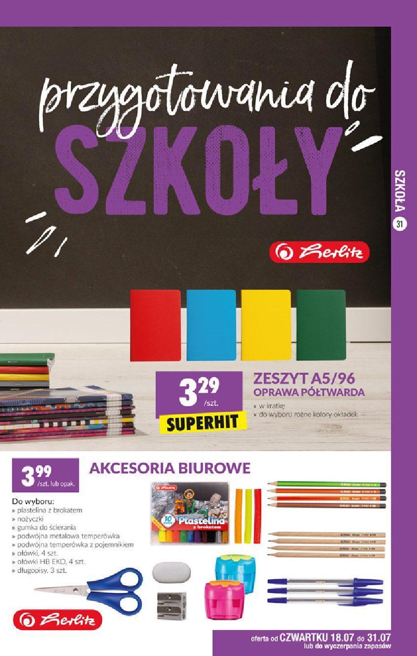 Gazetka promocyjna Biedronka do 31/07/2019 str.30